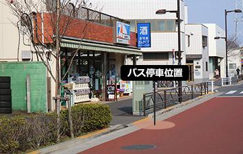 ⑥ 細田4丁目(さんかくや)