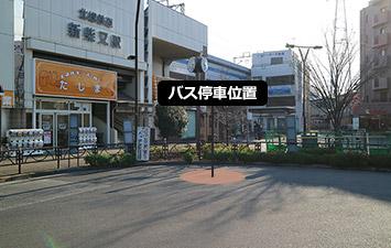 ⑪ 新柴又駅