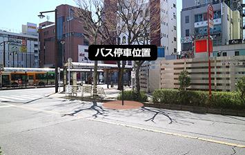 ② 亀戸駅北口