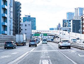高速道路走行体験